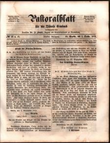 Pastoralblatt für die Diözese Ermland, 1873, nr 18-19