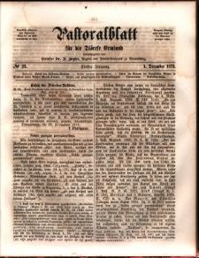 Pastoralblatt für die Diözese Ermland, 1873, nr 23