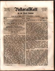 Pastoralblatt für die Diözese Ermland, 1874, nr 5