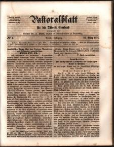 Pastoralblatt für die Diözese Ermland, 1874, nr 6