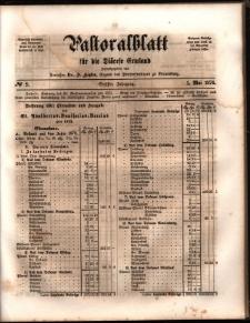 Pastoralblatt für die Diözese Ermland, 1874, nr 9