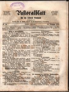 Pastoralblatt für die Diözese Ermland, 1874, nr 24