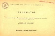 Powiatowy Dom Kultury w Mrągowie: Informator