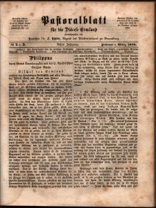 Pastoralblatt für die Diözese Ermland, 1876, nr 2-3