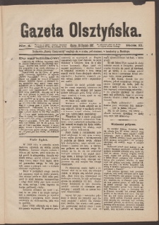 Gazeta Olsztyńska, 1887, nr 4