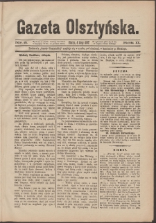 Gazeta Olsztyńska, 1887, nr 5