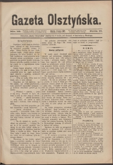 Gazeta Olsztyńska, 1887, nr 19