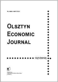 Olsztyn Economic Journal 13 (1/2018), 2018