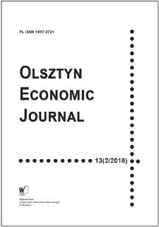 Olsztyn Economic Journal 13 (2/2018), 2018