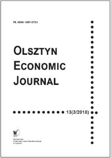 Olsztyn Economic Journal 12 (3/2018), 2018