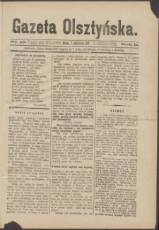 Gazeta Olsztyńska, 1887, nr 40
