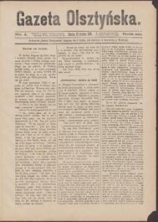 Gazeta Olsztyńska, 1888, nr 4