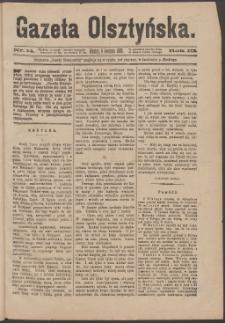 Gazeta Olsztyńska, 1888, nr 14
