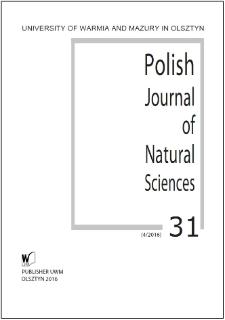 Polish Journal of Natural Sciences 31 (4/2016)