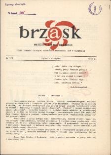Brzask : pismo młodzieży harcerskiej Warmii i Mazur, 1960 [R. 4], nr 7/8