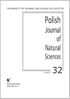 Polish Journal of Natural Sciences 32 (3/2017)