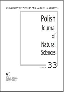 Polish Journal of Natural Sciences 33 (1/2018)