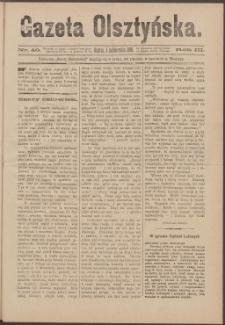Gazeta Olsztyńska, 1888, nr 40