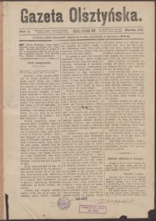 Gazeta Olsztyńska, 1889, nr 1