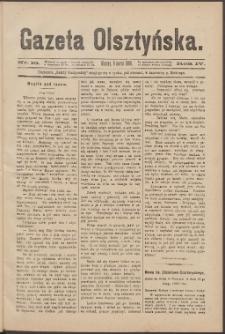 Gazeta Olsztyńska, 1889, nr 10