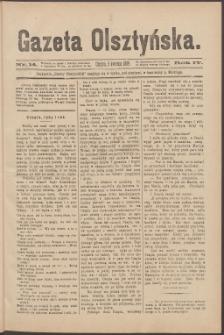 Gazeta Olsztyńska, 1889, nr 14