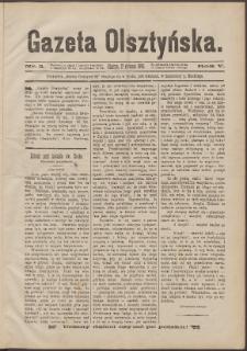 Gazeta Olsztyńska, 1890, nr 3