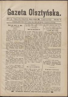 Gazeta Olsztyńska, 1890, nr 4