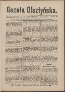 Gazeta Olsztyńska, 1890, nr 14