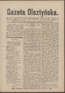 Gazeta Olsztyńska, 1890, nr 17