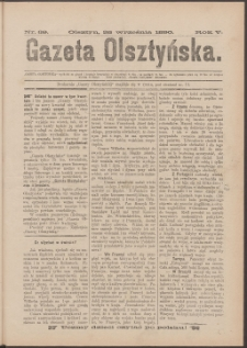 Gazeta Olsztyńska, 1890, nr 39