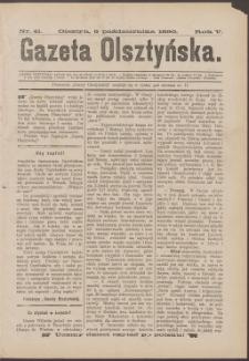 Gazeta Olsztyńska, 1890, nr 41