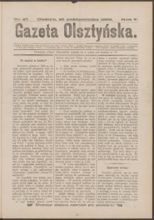 Gazeta Olsztyńska, 1890, nr 47
