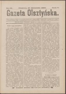 Gazeta Olsztyńska, 1890, nr 54