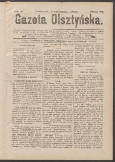 Gazeta Olsztyńska, 1891, nr 2