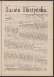 Gazeta Olsztyńska, 1891, nr 7