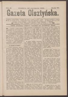Gazeta Olsztyńska, 1891, nr 8