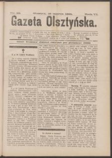 Gazeta Olsztyńska, 1891, nr 22