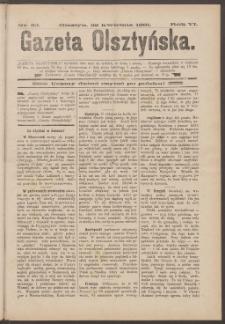 Gazeta Olsztyńska, 1891, nr 32