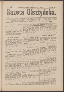 Gazeta Olsztyńska, 1891, nr 33