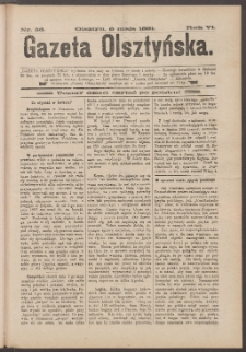 Gazeta Olsztyńska, 1891, nr 36