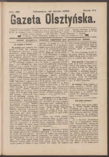 Gazeta Olsztyńska, 1891, nr 38