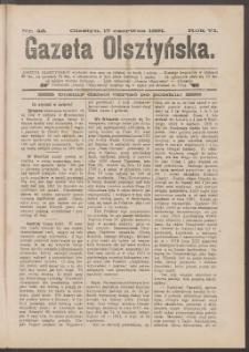 Gazeta Olsztyńska, 1891, nr 48