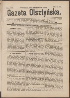 Gazeta Olsztyńska, 1891, nr 50