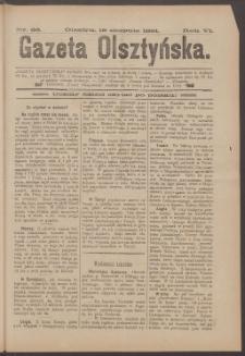 Gazeta Olsztyńska, 1891, nr 66