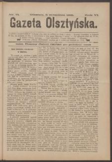 Gazeta Olsztyńska, 1891, nr 71