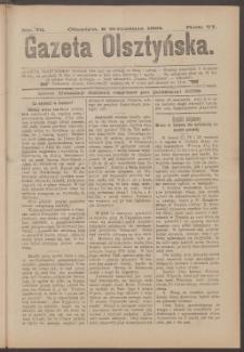 Gazeta Olsztyńska, 1891, nr 72