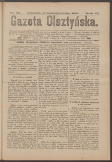 Gazeta Olsztyńska, 1891, nr 83