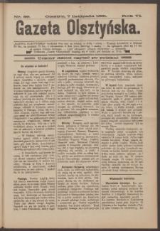 Gazeta Olsztyńska, 1891, nr 89