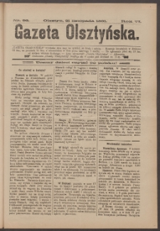 Gazeta Olsztyńska, 1891, nr 93