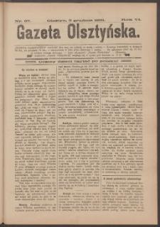 Gazeta Olsztyńska, 1891, nr 97
